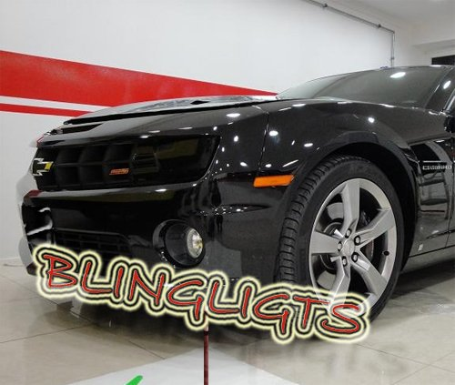 Chevy Camaro Tint Protection Film for Smoked Headlamps Headlights Head Lamps Lights Overlays