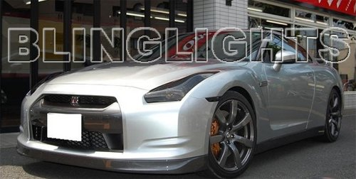 2009 2010 2011 2012 Nissan GT-R GTR Tint Protection Film for Smoked Headlamps Headlights Head Lamps