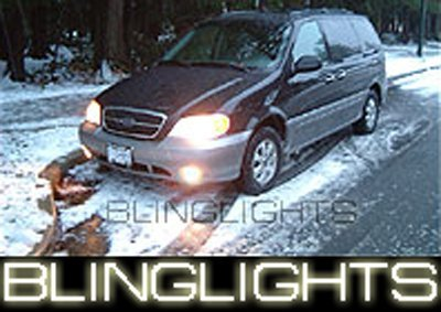 1999-2005 KIA CARNIVAL ANGEL EYE DRIVING LIGHTS HALO LAMPS LIGHT LAMP KIT 2000 2001 2002 2003 2004