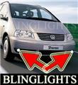 2004-2009 VOLKSWAGEN SHARAN FOG LIGHTS lamp s se sport 2005 2006 2007 2008
