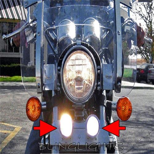 1983 1984 1985 1986 Honda Magna V65 VF1100C Xenon Driving Lights Fog Lamps Foglamps Foglights kit