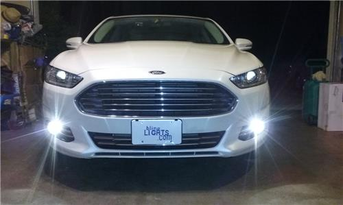 2013 2014 2015 2016 ford fusion non halo fog lamps lights kit