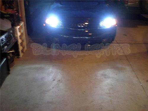 2003 2004 Infiniti M45 Replacement Xenon HID Bulbs for Headlamps Headlights Head Lamps Lights