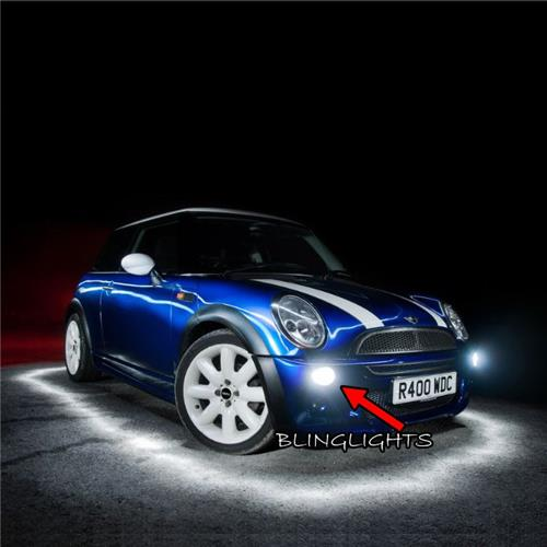 2004-2008 BMW Mini Cooper R52 Convertible Xenon Fog Lamp Driving Light Kit