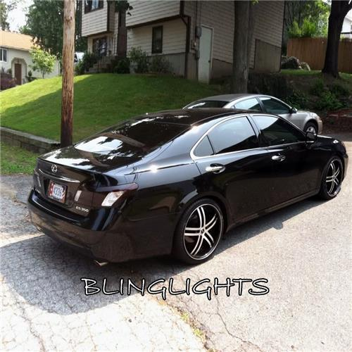 07 08 09 Lexus ES350 Tinted Smoked Taillamps Taillights Overlays Film Protection