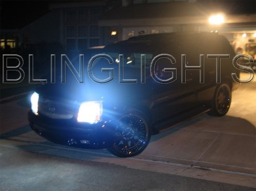 2002 Cadillac Escalade Xenon HID Conversion Kit Headlamps Headlights on escalade led headlights, escalade on 28s, escalade grill, escalade led lights for an inner,