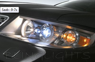 Saab 9 7X Replacement HID Low Beam Light Bulbs For Xenon Headlamps  Headlights Head Lamps Lights