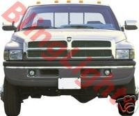 1994 1995 1996 1997 1998 1999 2000 2001 2002 Dodge Ram 2500 Xenon Foglamps Fog Lamps Lights Kit