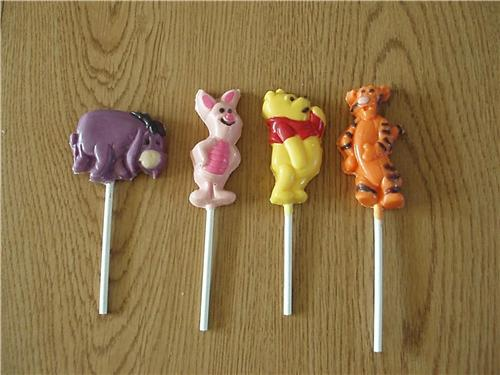 Winnie The Pooh And Friends Chocolate Lollipops Birthday