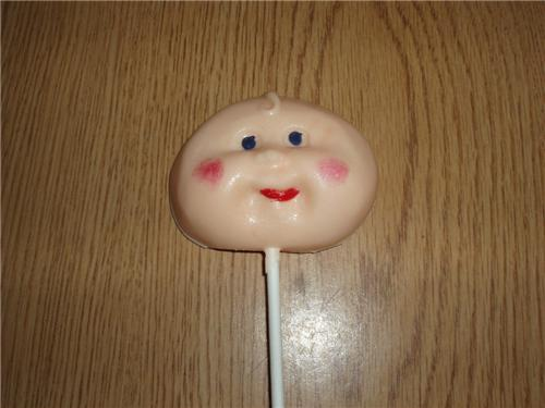 Cabbage Patch Baby Chocolate Lollipops Baby Shower Party Favors