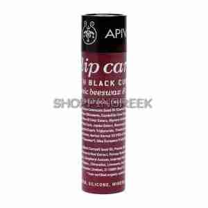 Apivita Propoline Lip Aid Black Currant Shade