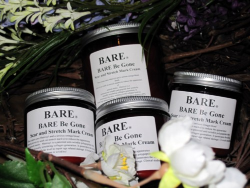 BARE NAKED (unscented) Scar and Stretch Mark Cream
