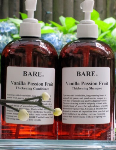 BARE Vanilla Passion Fruit Hair Thickening Conditioner