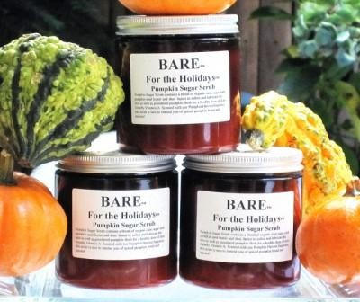 BARE For the Holidays Pumpkin Sugar Face and Body Scrub