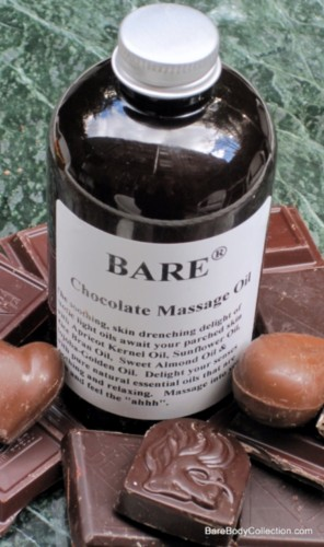 BARE Chocolate Massage Oil