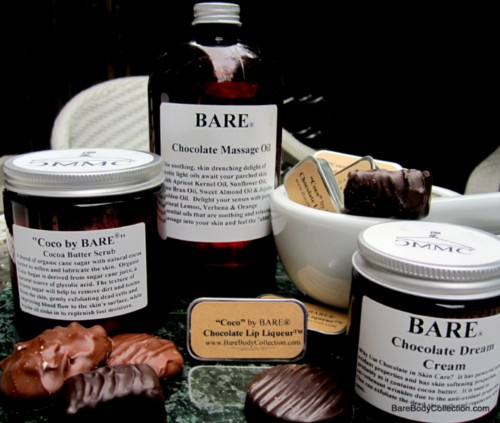 BARE Cocoa Butter Chocolate Face and Body Scrub