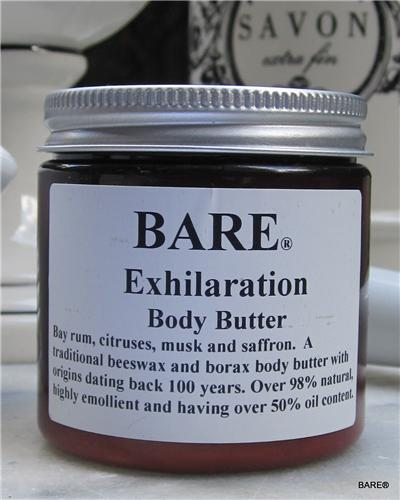 "BARE ""EXHILARATION"" (unisex) Body Butter"