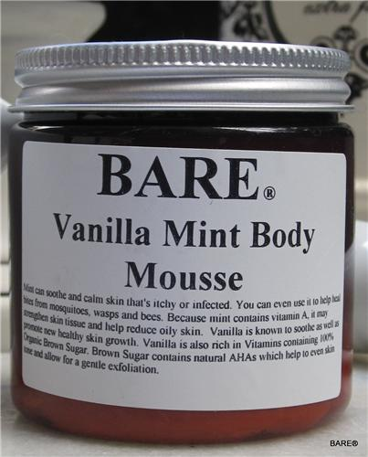 BARE Vanilla Mint Body Butter
