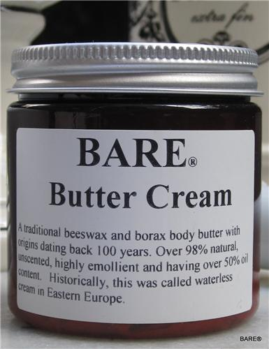BARE BUTTER CREAM Body Butter