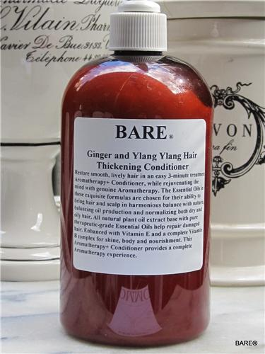BARE GINGER YLANG YLANG Thickening Conditioner