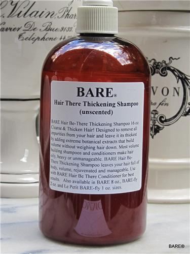 BARE Hair Thickening Shampoo for Colored Hair- Sulfate Free