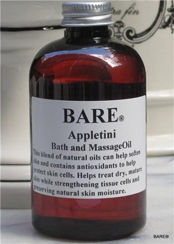 "BARE ""APPLETINI"" Massage & Bath Oil"