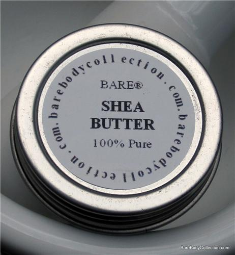 BARE NAKED (unscented) Shea butter