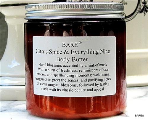 "BARE ""Citrus Spice and Everything Nice"" Body Butter"
