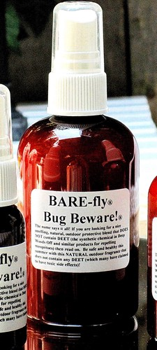 "BARE NAKED ""BAREFLY"" Bug Beware! Child & Pet Friendly Bug Spray"