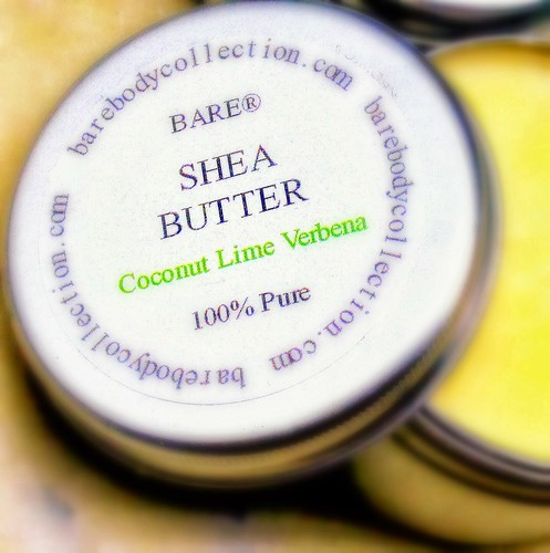 "BARE ""SHEA It Like It Is"" Coconut Lime Verbena Shea Butter"
