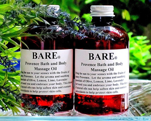 "BARE ""ABOUT FACE"" (PROVENCE) Massage & Bath Oil"