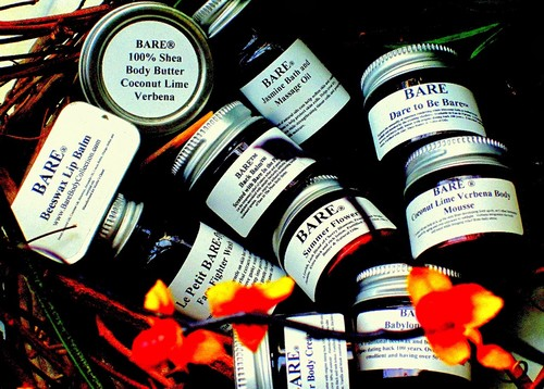 BARE It All Beauty Balms and Butters Travel Gift Bag