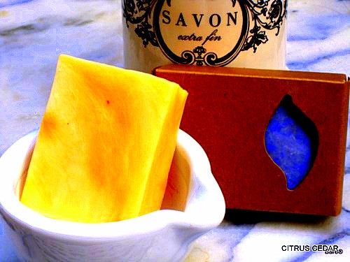 BARE BLOCK Citrus Cedar Soap