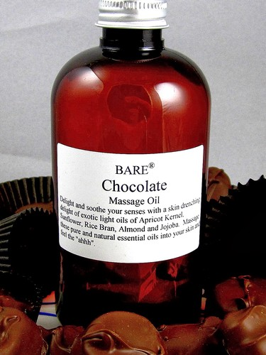 BARE Chocolate Massage & Bath Oil