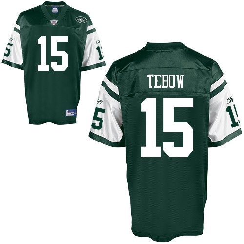 best service 57a8c c2ad4 Reebok New York Jets Tim Tebow NFL Jersey