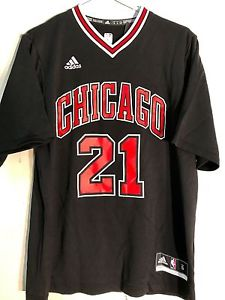 new concept 4e4a9 d704e Adidas Chicago Jimmy Butler Black Swingman NBA Basketball Jersey