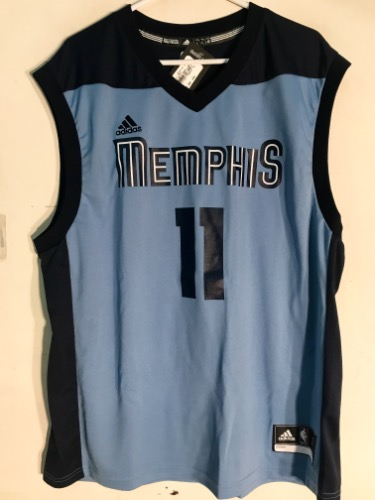 best service f6f65 0a23e Adidas Memphis Grizzlies Mike Conley Light Blue NBA Jersey