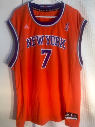 f51c38d8ef97 Adidas New York Knicks Carmelo Anthony Orange NBA Basketball Jersey.  IMG 0458 More Images. Other products by Adidas