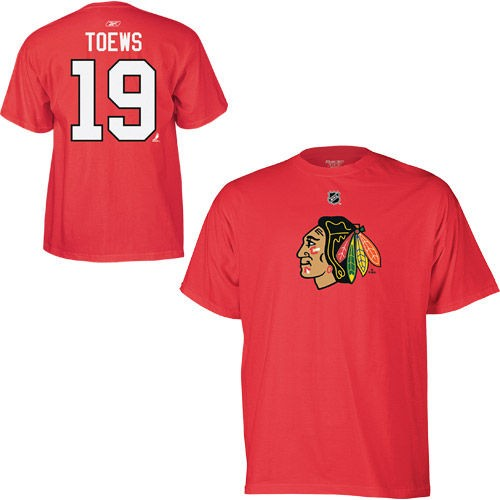 Jonathan Toews Chicago Blackhawks NHL T-Shirt Jersey.JPG
