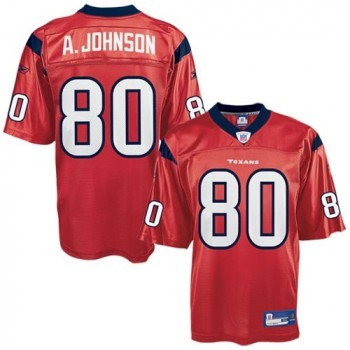 separation shoes 4680b c2f14 Reebok Houston Texans Andre Johnson Red Premier NFL Jersey