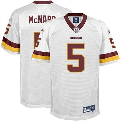 Reebok Donovan McNabb Washington Redskins Jersey - White.jpeg