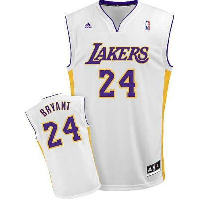 2f533e62d6d2 Los Angeles Lakers N24 Kobe Bryant White nba Jersey.jpeg