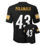 team apparel pittsburgh steerlers polamalu black nfl jersey.jpeg