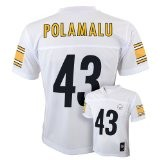 team apparel pittsburgh steerlers polamalu white nfl jersey.jpeg