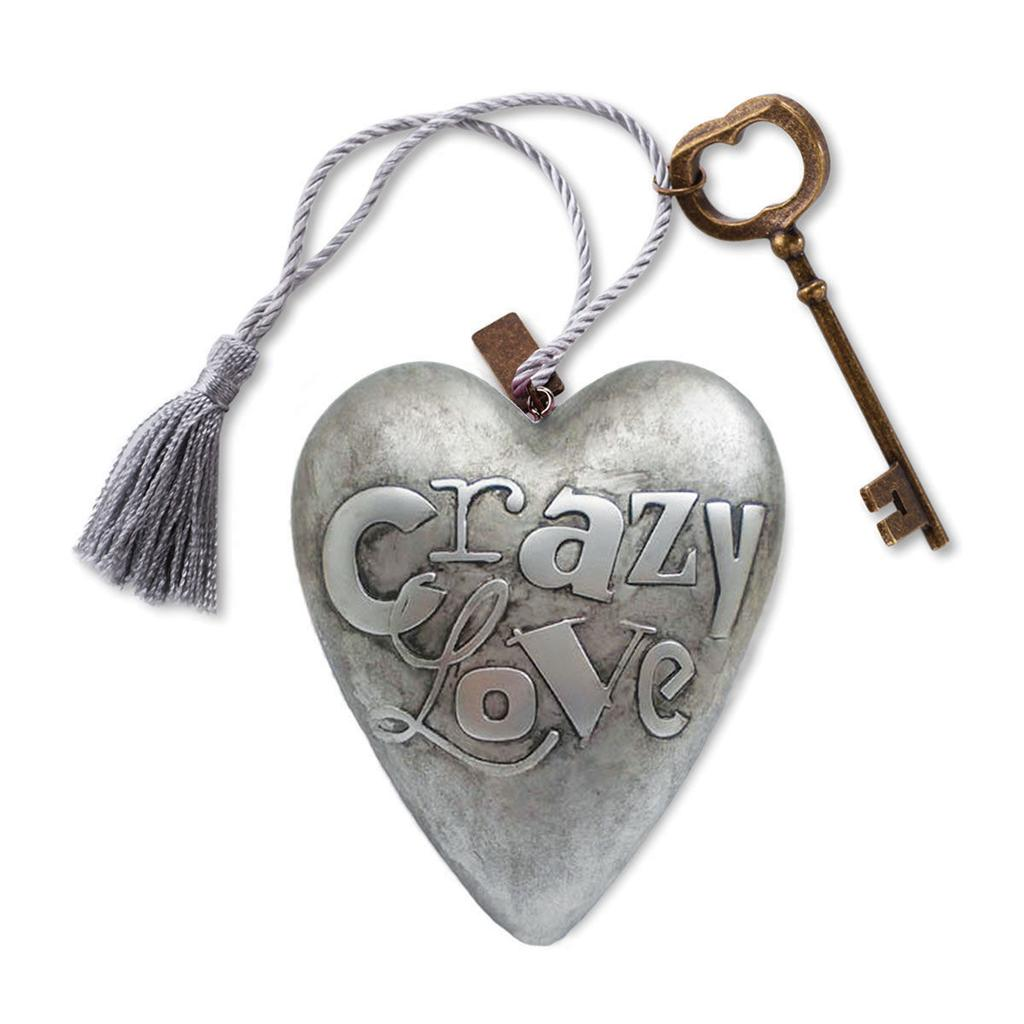 Studio by DEMDACO Art Heart Crazy Love Sculpture Collection III Delsie Chambon