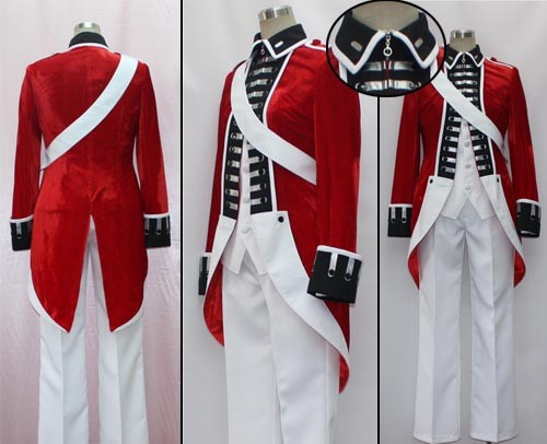 APH Hetalia Axis Powers United Kingdom Revolution Cosplay Costume & APH Hetalia Axis Powers United Kingdom Revolution Cosplay Costume ...