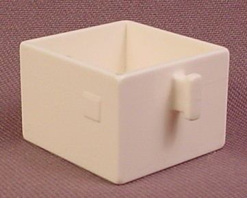 Lego Duplo 4891 White 2X2 Drawer With Handle, Furniture, Bedroom,  Playhouse, Doll House