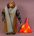 Star Trek TNG Gowron Klingon Action Figure, The Next Generation, Series 3,  4 3/4 Inches Tall