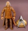 Star Trek TNG Dr. Noonian Song Action Figure, The Next Generation, Series 3, 1993 Playmates