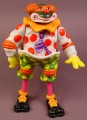 TMNT Crazy Clown Mike Action Figure (B), 1992 Playmates, Missing The Suspenders